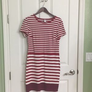 Stripped Casual Dress